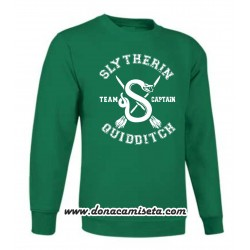 Sudadera Slytherin Quidditch Team Captain (Harry Potter)