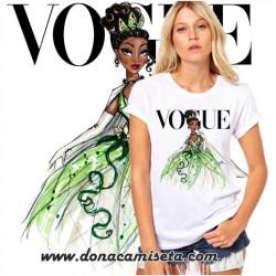 Camiseta Tiana Vogue