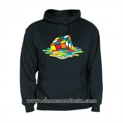 Sudadera Cubo Rubik Sheldon derretido