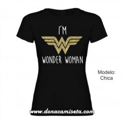 Camiseta Im Wonder Woman