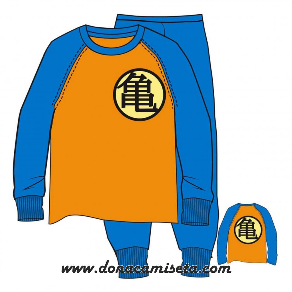 Pijama Dragon Ball logo