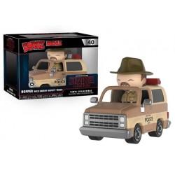 Figura Funko Dorbz Stranger Things Hopper coche 24cm
