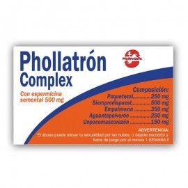 Caja Pastillas caramelos broma Phollatrón Complex
