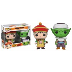 Figura Funko Pop Dragon Ball Gohan Piccolo pack de 2