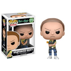 Figura Funko Pop Rick & Morty: Weaponized Morty 173