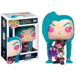 Figura Funko Pop League Legends Jinx 05