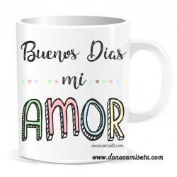 Taza Buenos días mi Amor