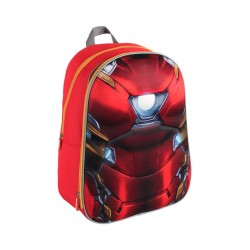 Mochila 3D Ironman Civil War de MARVEL 40X29X15 cm