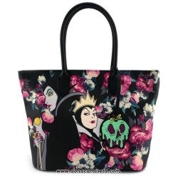 Bolso grande Villanas Disney Floral de Loungefly