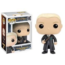 Figura Funko Pop HP Draco Malfoy con varita 13