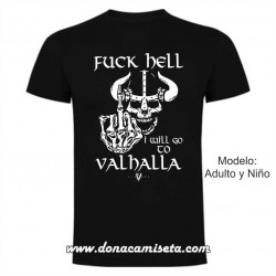 Camiseta Fuck Hell (Vikings)