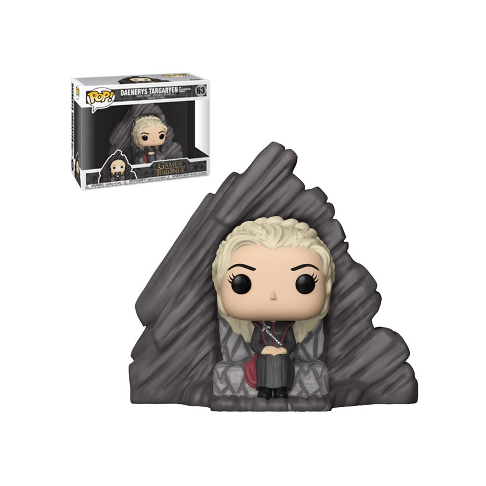 Figura Pop Juego de Tronos Daenerys on Dragonstone Throne