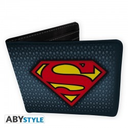 Cartera Billetero Superman Logo DC Comics