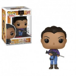 Figura Funko Pop Walking Dead Sasha 577