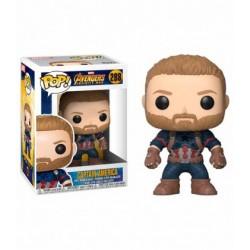 Figura Funko Pop Avengers Infinity War Capitán América 288