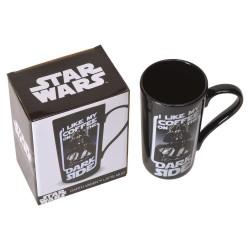 Taza Star Wars Darth Vader 3D con tapa