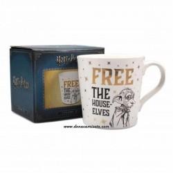 Taza Harry Potter Dobby Free The House Elves