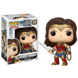 Figura Funko Pop Justice League Wonder Woman 206