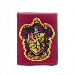 Cartera Harry Potter Gryffindor Logo Bordado