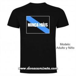Camiseta Bandeira Nunca Máis