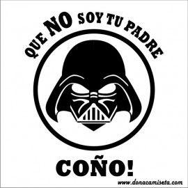 Diseño Darth Vader NO soy tu Padre