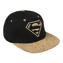 Gorra logo Superman 3d visera plana premium Marvel