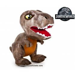 Peluche Jurassic World dinosaurio T-Rex