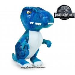 Peluche Jurassic World dinosaurio Raptor
