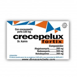 Caja Pastillas caramelos broma CRECEPELUX FORTIX