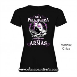 Camiseta soy Peluquera