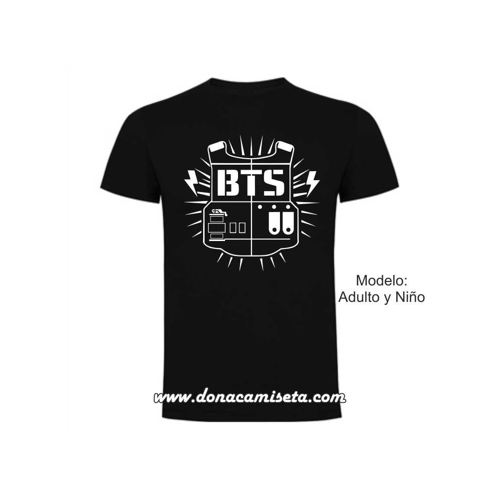 Camiseta BTS army