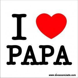 Diseño I Love Papa