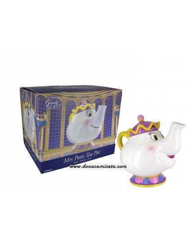 Tetera Sra Potts Disney Beauty and the Beast
