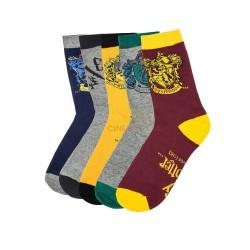 Calcetines Harry Potter con Escudos Casas y Plataforma