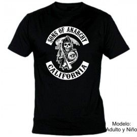 Camiseta MC Sons of Anarchy