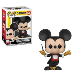 Funko Pop Mickey Mouse 428 90 años Conductor Mickey Disney