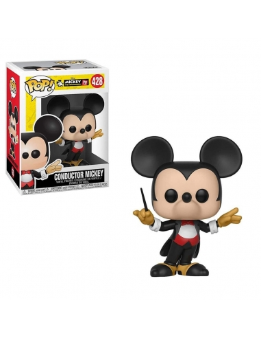 Funko Pop Mickey Mouse 427 90 años Firefighter Mickey Disney