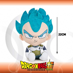 Peluche Vegeta Super Saiyan God Dragon Ball Super 22cm