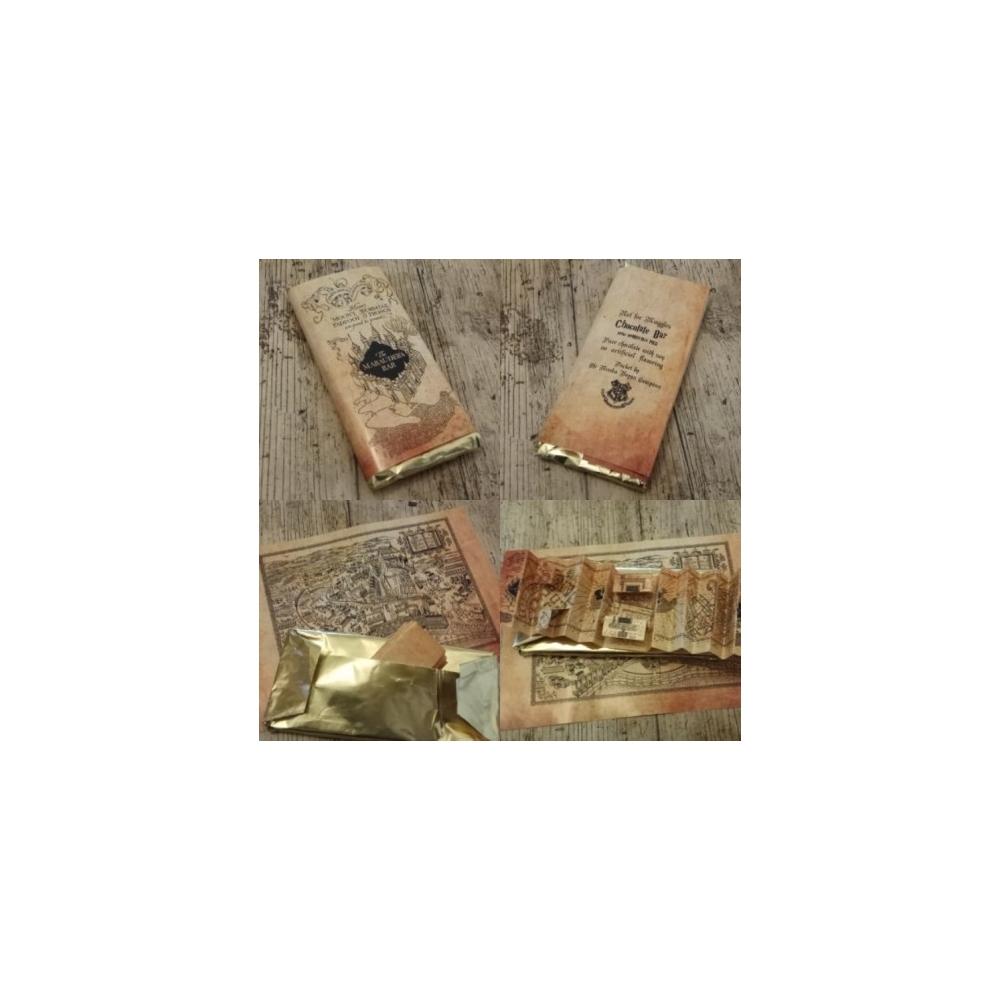 Chocolatina Friki Maraurder´s Bar