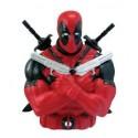Hucha Figura Deadpool busto 3d Marvel