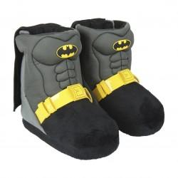 Zapatillas de casa Supermán bota en 3d con capa