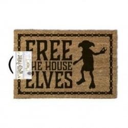 Felpudo Harry Potter Free the house Elves