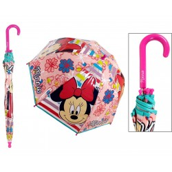 Paraguas burbuja Minnie Mouse burbuja flores Disney