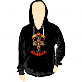 Sudadera Capucha Guns n´ Roses Appetite for destruction