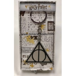 LLavero Harry Potter Reliquias en metal
