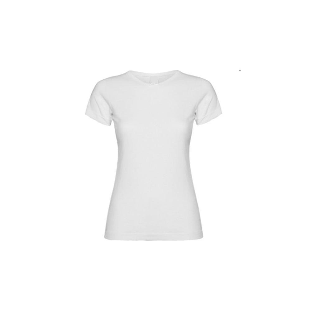 Camiseta MC Chica Blanca Personalizable
