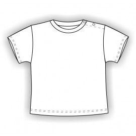 Camiseta MC bebé Blanca Personalizable