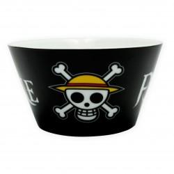 Bowl de desayuno One Piece calavera Luffy