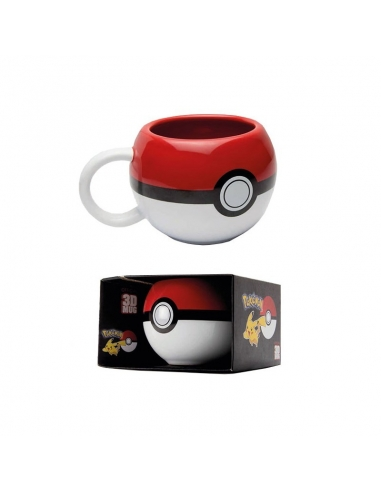 Taza Pokemon Pokeball 3D