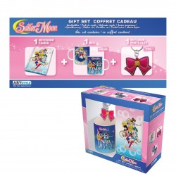 Pack Sailor Moon Taza + Libreta + Llavero
